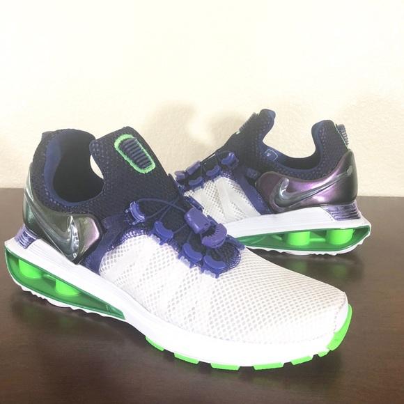 Women s Nike Shox Gravity Shoes AQ8554 105 Sz 8.5 eb6ebf384